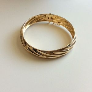 SS gold wash Bangle Bracelet